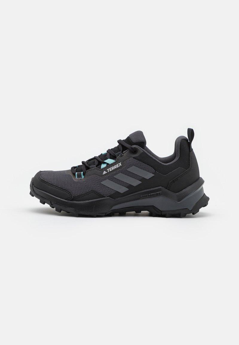 adidas Performance - TERREX AX4 - Hiking shoes - core black/grey three/mint ton