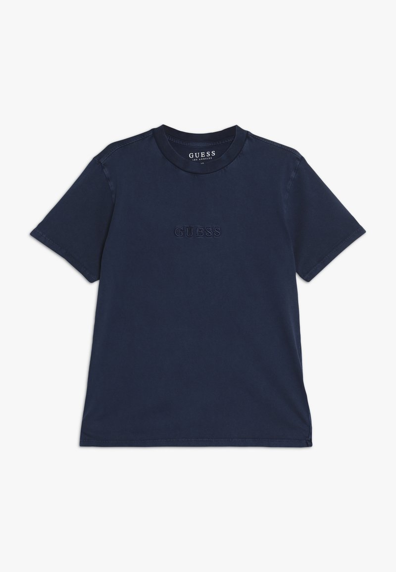 Guess - JUNIOR UNISEX OVERSIZE  - T-shirt basic - deck blue