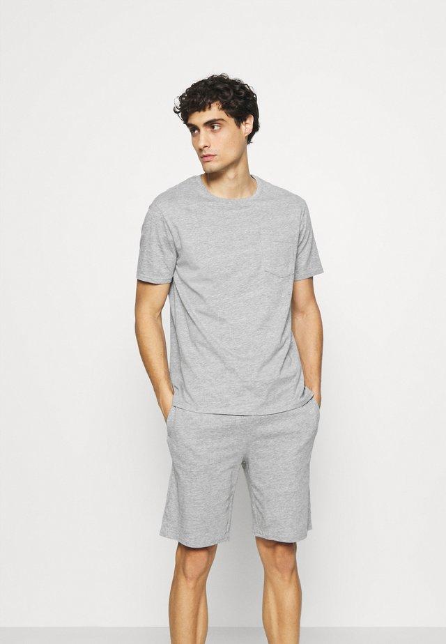 SET - Pyjama - mottled grey