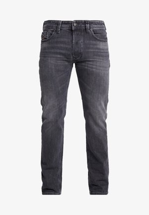 LARKEE - Džíny Straight Fit - grey denim