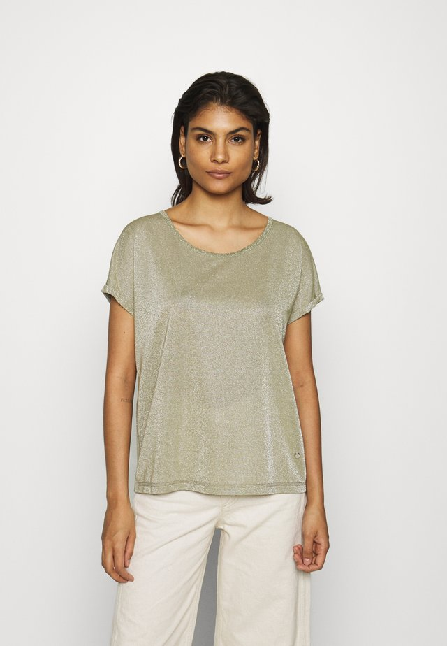KAY TEE - T-shirt basique - oil green