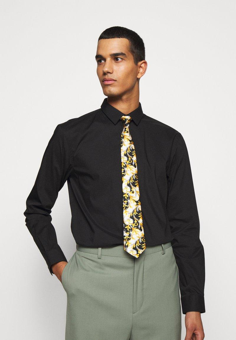 Versace - Tie - bianco/nero/oro