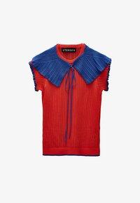 Uterqüe - Print T-shirt - red - 6