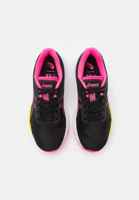 ASICS - GEL-PULSE  - Neutral running shoes - black/hot pink - 3
