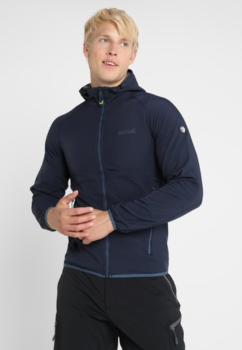 AREC  - Giacca in pile - navy/grey
