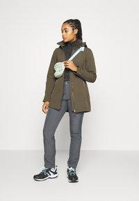Icepeak - UHRICHSVILLE - Soft shell jacket - dark olive - 1