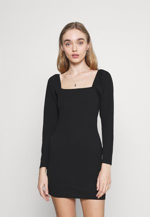MILKMAID MINI DRESS - Cocktailkjole - black