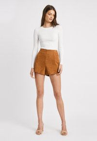 Kookai - Shorts - camel - 1