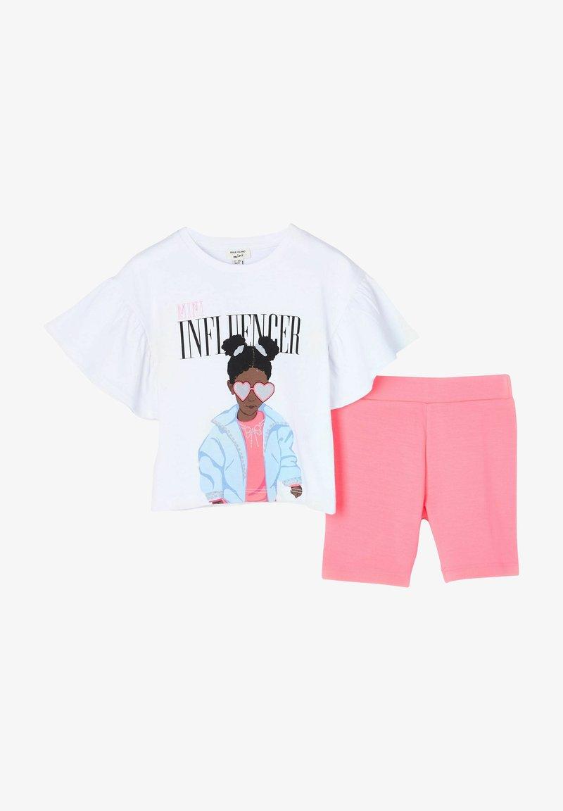 River Island - SET - Shorts - pink