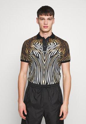 ANIMAL PRINT  - Poloshirt - black/beige