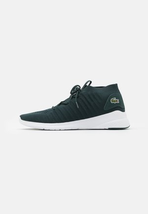 FIT-FLEX - Sneakersy niskie - dark green/white