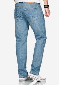 Alessandro Salvarini - Straight leg jeans - hellblau - 3