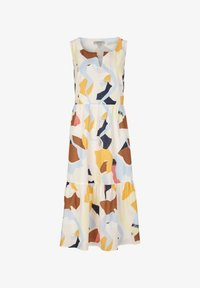 comma casual identity - Day dress - blush abstract geo - 5