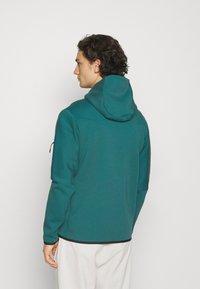 Nike Sportswear - HOODIE 2 TONE - Zip-up hoodie - dark teal green/blustery - 2