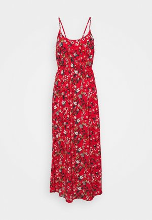 VMSIMPLY EASY SINGLET DRESS - Robe longue - goji berry