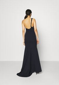 Missguided - ONE SHOULDER TWIST BRIDESMAID DRESS - Suknia balowa - navy - 2