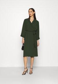 Monki - ANDIE DRESS - Day dress - dark green - 1