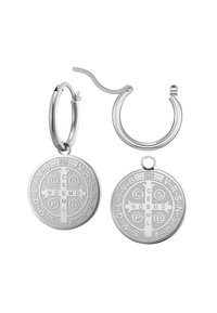 Heideman - CREOLE ARCHIVUS POLIERT - Earrings - silberfarben poliert - 3