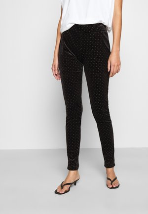 ONLCATHY - Leggings - Trousers - black