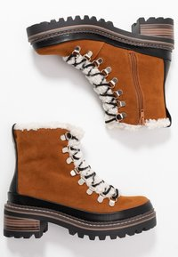 Madden Girl - JACK - Platform ankle boots - whiskey - 3