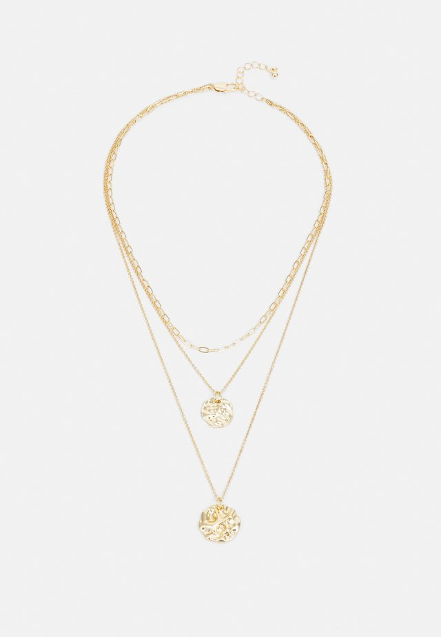 PCDAKOTA COMBI NECKLACE - Necklace - gold-coloured