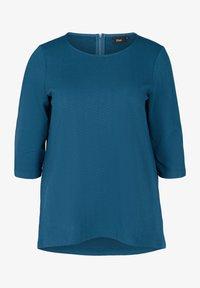 Zizzi - Blouse - dark blue - 1
