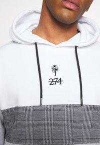 274 - FULTON HOOD - Bluza z kapturem - grey - 5