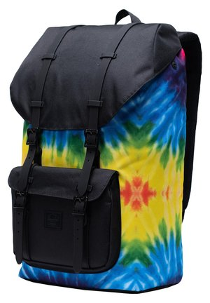 LITTLE AMERICA  - Rucksack - rainbow tie dye/black rubber [03561]