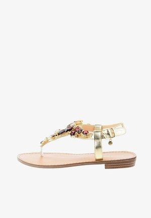 DELLA - T-bar sandals - platinum