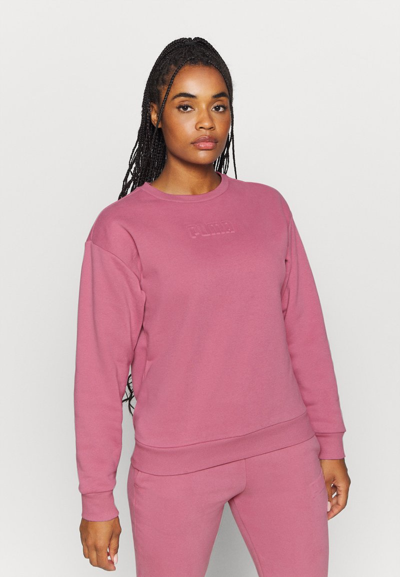 Puma - MODERN BASICS CREW - Sweatshirt - foxglove
