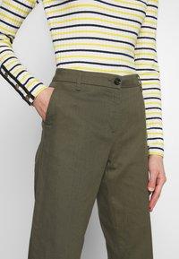 Sisley - TROUSERS - Pantaloni - khaki - 3