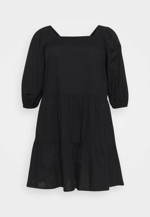 XTINNAE KNEE DRESS - Day dress - black