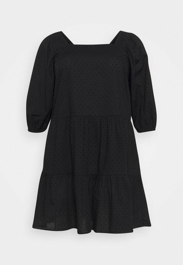 XTINNAE KNEE DRESS - Korte jurk - black