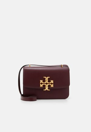 ELEANOR CONVERTIBLE SHOULDER BAG - Across body bag - claret