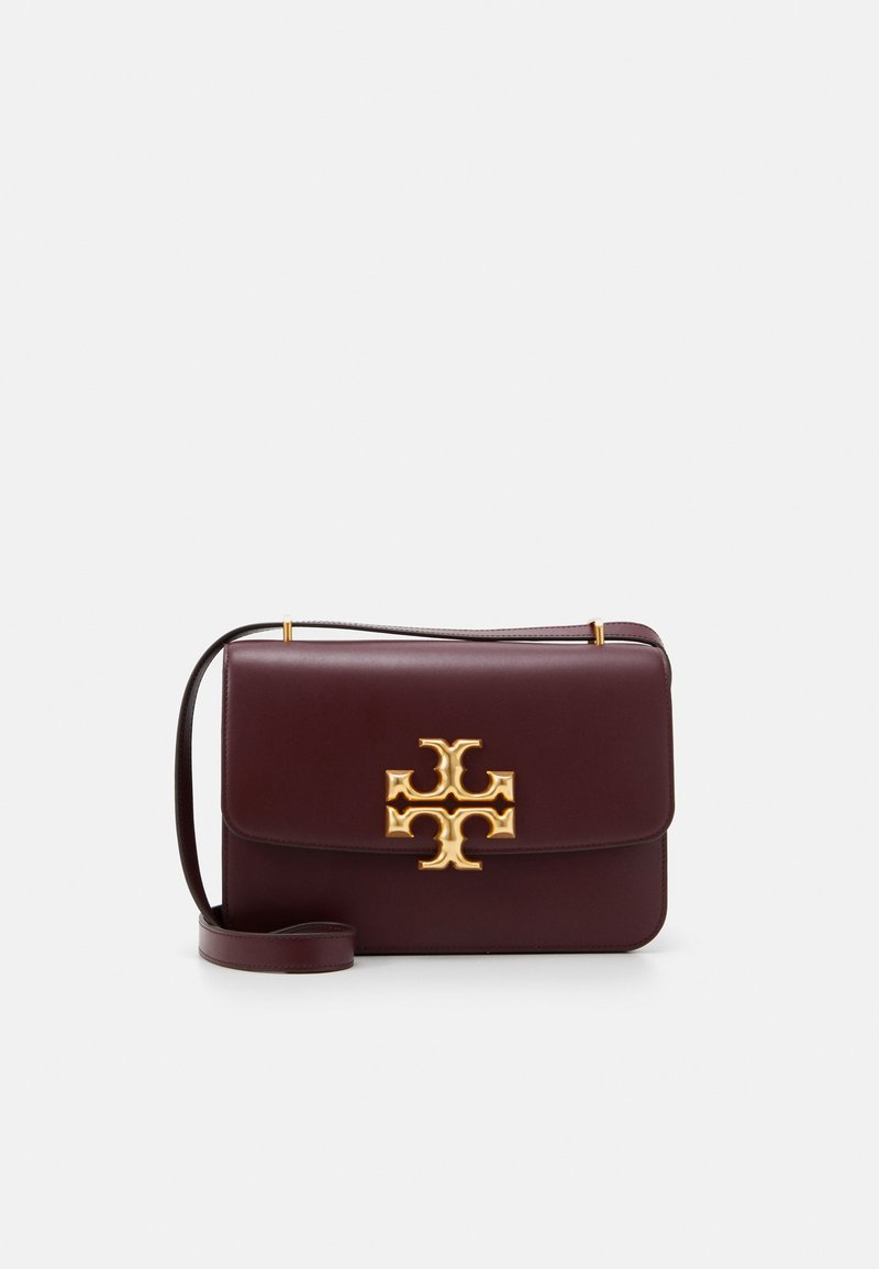 Tory Burch - ELEANOR CONVERTIBLE SHOULDER BAG - Borsa a tracolla - claret