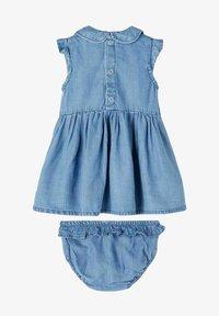 Name it - Denim dress - medium blue denim - 0