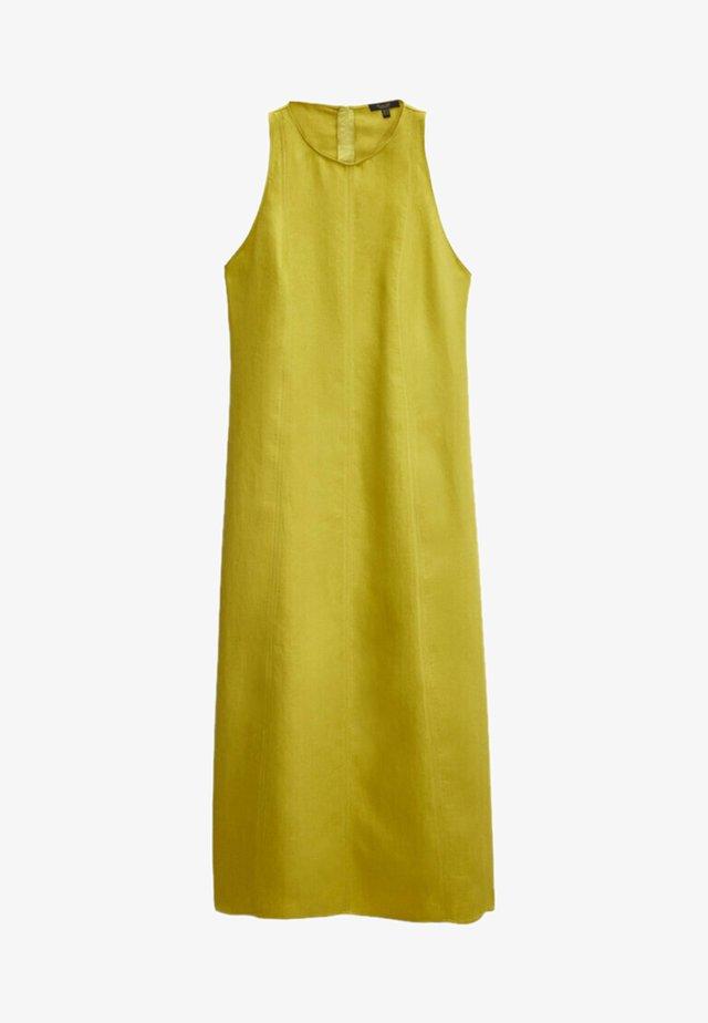 MIT NECKHOLDER - Sukienka letnia - yellow