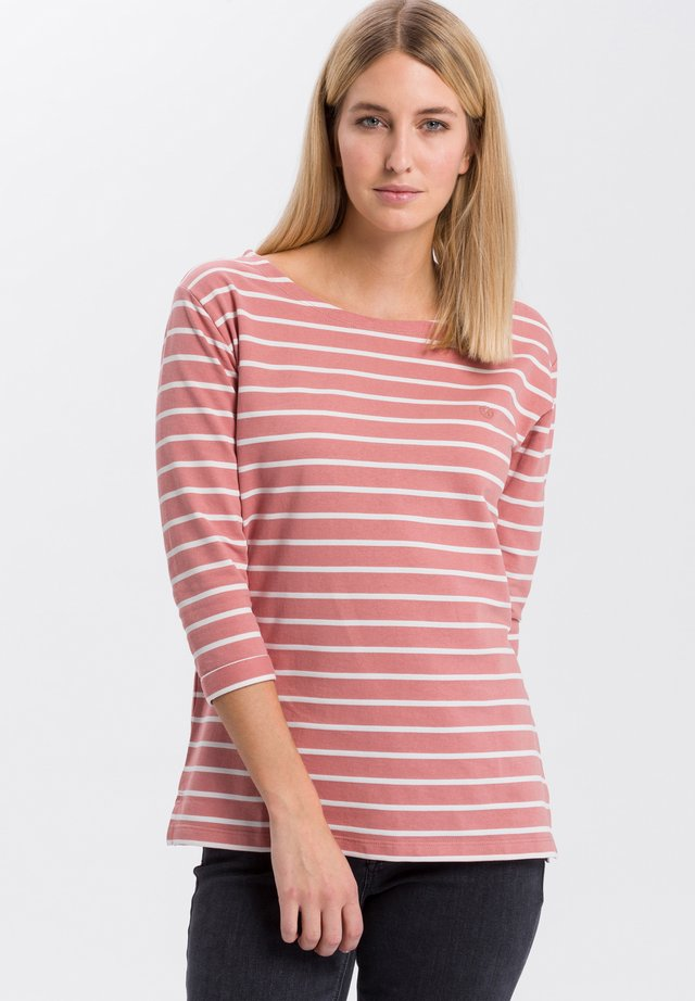 MIT ARM - Long sleeved top - light-rosa