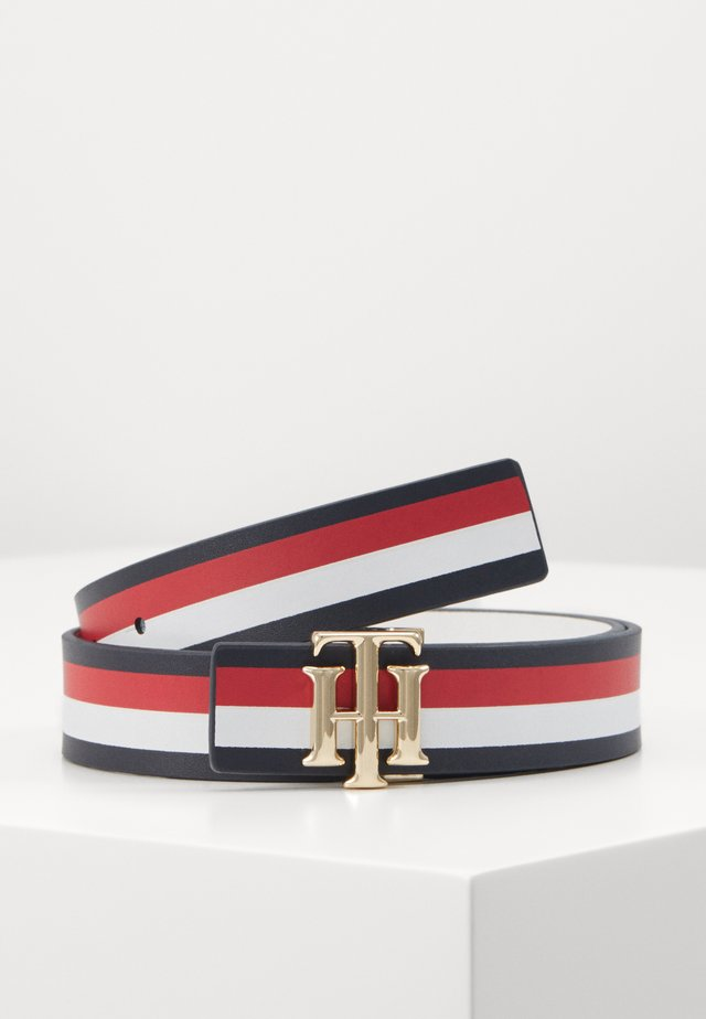 LOGO BELT REVERSIBLE - Cinturón - blue