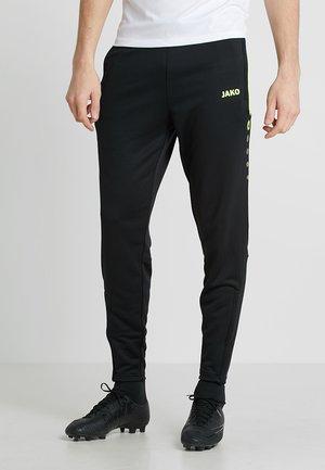 ACTIVE - Pantaloni sportivi - schwarz/neongelb