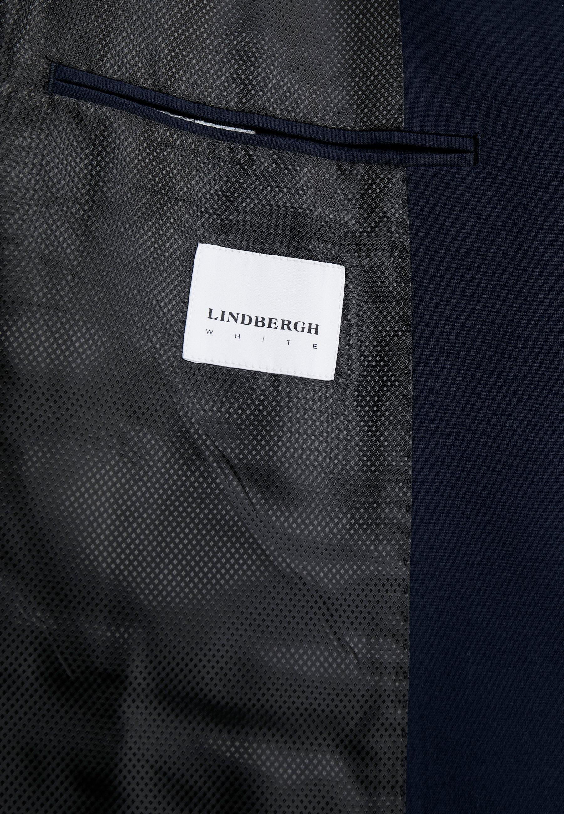 Klassinen Miesten vaatteet Sarja dfKJIUp97454sfGHYHD Lindbergh PLAIN MENS SUIT Puku navy