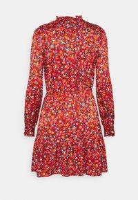 Pinko - NOMADE ABITO CLOQUE FIORELLINO - Day dress - red - 7
