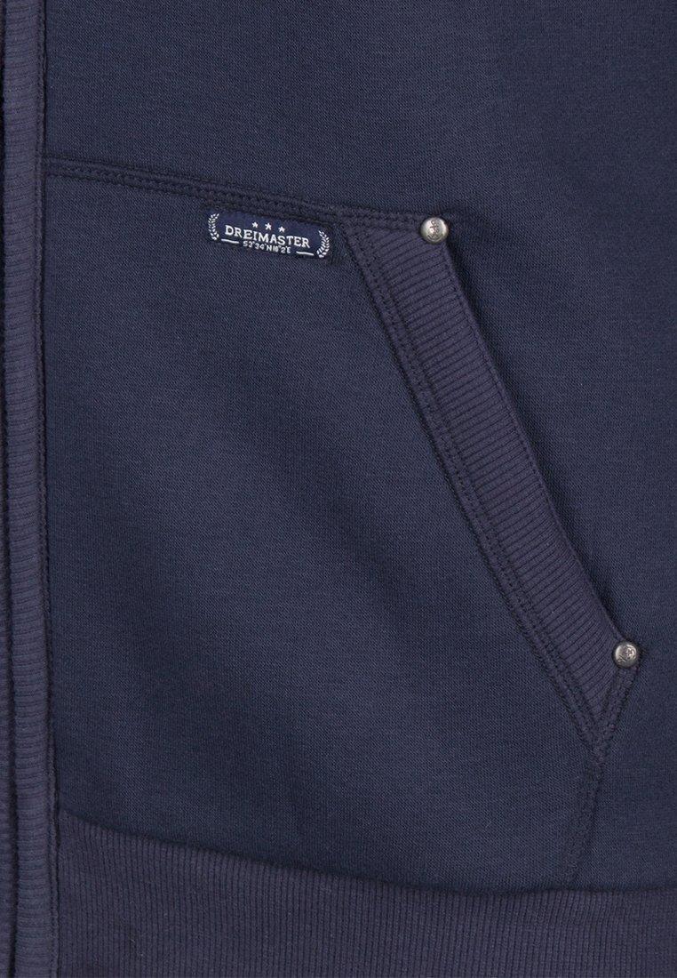 DreiMaster veste en sweat zippée - navy