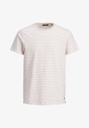 T-shirt basic - peach whip