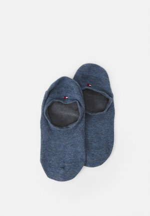 MEN FOOTIE 2 PACK - Socquettes - blue denim