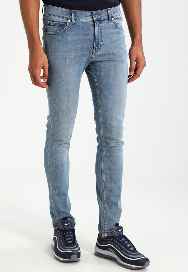 TIGHT - Jeansy Skinny Fit - stonewash blue