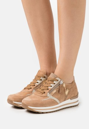 Sneakers laag - caramel/camel
