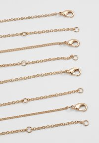LIARS & LOVERS - MULTI LAYER DISC 4 PACK - Necklace - gold-coloured - 2