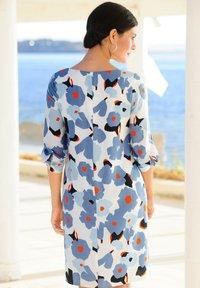 Alba Moda - Day dress - hellblau,koralle - 4