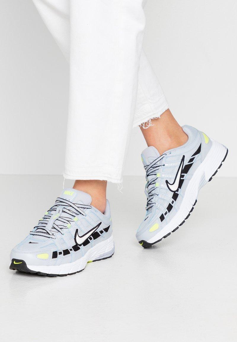 Nike Sportswear - P-6000 - Sneakers - sky grey/white/lemon